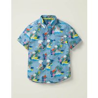 Holiday Shirt Multi Boden, Blue