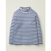 Roll Neck Supersoft T-Shirt Ivory Boys Boden, Ivory