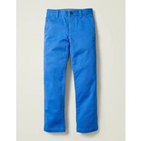 Chino Trousers Blue Boys Boden, Blue