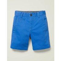 Chino Shorts Blue Girls Boden, Blue