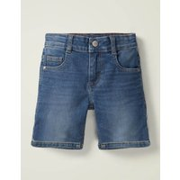 Denim Shorts Blue Boys Boden, Denim