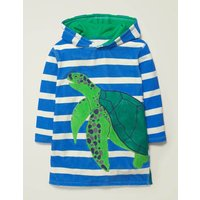 Towelling Throw-on Blue Boys Boden, Blue