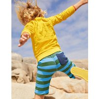 Long-sleeved Towelling T-shirt Yellow Boys Boden, yellow