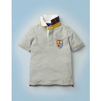 Hogwarts Heritage Rugby Shirt Grey Boys Boden, Grey