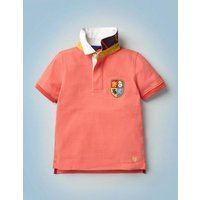 Hogwarts Heritage Rugby Shirt Red Boys Boden, Red