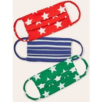 Non-medical Face Coverings 3pk Multi Boden, Multicouloured
