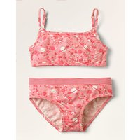 Crop Top and Pants Set Pink Girls Boden, Pink