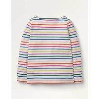 Everyday Breton Rainbow Multi Stripe Boden, Rainbow Multi Stripe