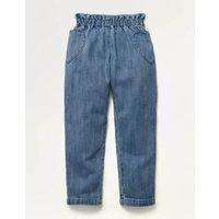 Pull-on Trousers Blue Girls Boden, Denim