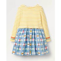 Hotchpotch Dress Blue Girls Boden, Blue