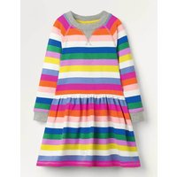 Jersey Printed  Dress Multi Girls Boden, Blue