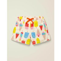 Towelling Shorts Multi Women Boden, Multicouloured