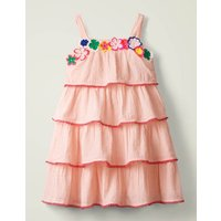 Hula Girl Dress Pink Girls Boden, Pink