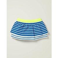 Patterned Swim Skirt Blue Girls Boden, Blue