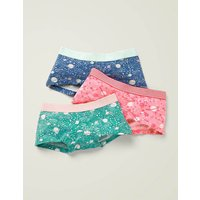 Johnnie B 3 Pack Shorties Ivory Girls Boden, Ivory