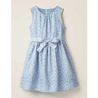 Vintage Dress Blue Girls Boden, Blue