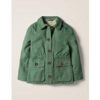 Utility Jacket Green Girls Boden, Green