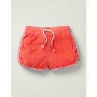 Johnnie B Retro Towelling Short Pink Girls Boden, Coral