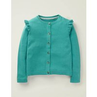 Everyday Cardigan Green Girls Boden, Green