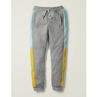 Johnnie B Cosy Colourblock Joggers Grey Girls Boden, Grey