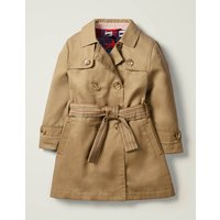 Trench Coat Brown Girls Boden, Brown