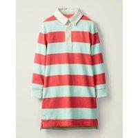 Johnnie B Jersey Shirt Dress Red Girls Boden, Red