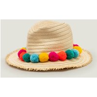 Straw Hat Natural Girls Boden, Natural