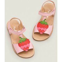 Fun Leather Sandals Pink Girls Boden, Pink