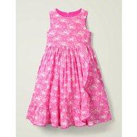 Ruffle Wrap Dress Pink Girls Boden, Pink