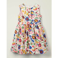 Vintage Dress Multi Girls Boden, Multicouloured