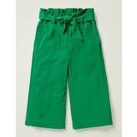 Johnnie B Tie-waist Culotte Green Girls Boden, Green
