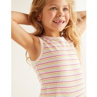 Picot Pointelle Vest Multi Girls Boden, Multicouloured