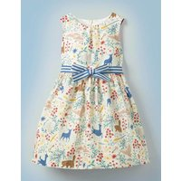Hogwarts Vintage Dress Ivory Girls Boden, Ivory