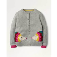 Fun Cardigan Grey Girls Boden, Grey
