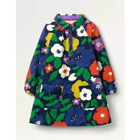 Collared Woven Dress Navy Girls Boden, Navy