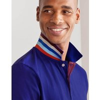 Boden Piqué Polo Greek Blue Christmas Boden, Blue