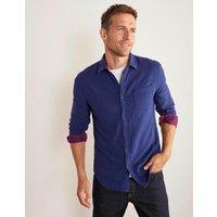 Boden Doublecloth Shirt Navy Men Boden, Navy