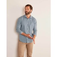 Slim Fit Printed Twill Shirt Multi Men Boden, Multi