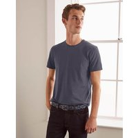 Boden Washed T-shirt Grey Men Boden, Grey