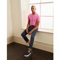 Boden Washed T-shirt Berry Sorbet Pink Men Boden, Pink