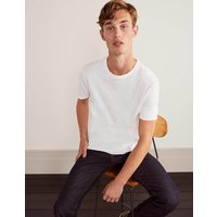 Boden Washed T-shirt White Men Boden, White