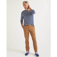 Original Slim Leg Chinos Brown Christmas Boden, Brown