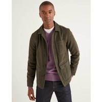 Boden Darlington Canvas Jacket Green Men Boden, Green