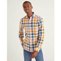Linen Cotton Pattern Shirt Multi Men Boden, Multicouloured