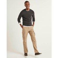 Cargo Trousers Brown Men Boden, Brown