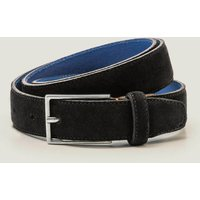 Smart Suede Belt Black Men Boden, Black