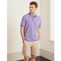 Boden Piqué Polo Purple Christmas Boden, Multicouloured