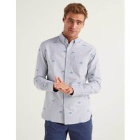 Boden Slim Fit Modern Oxford Shirt Blue Men Boden, Blue