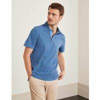 Garment Dye Polo Blue Men Boden, Blue