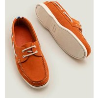 Boden Boat Shoes Orange Men Boden, Orange
